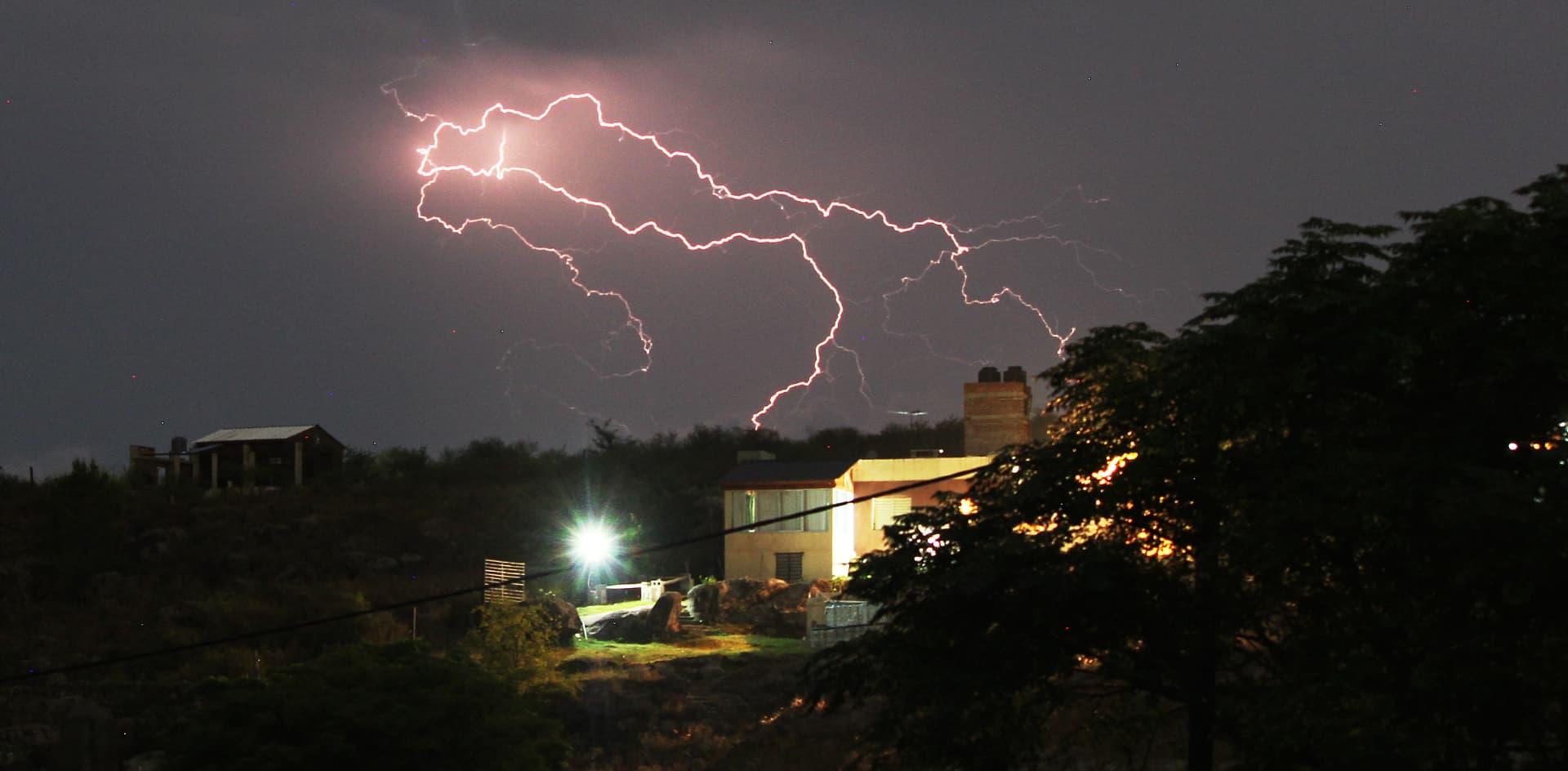 En Córdoba se originarían las tormentas más intensas del mundo