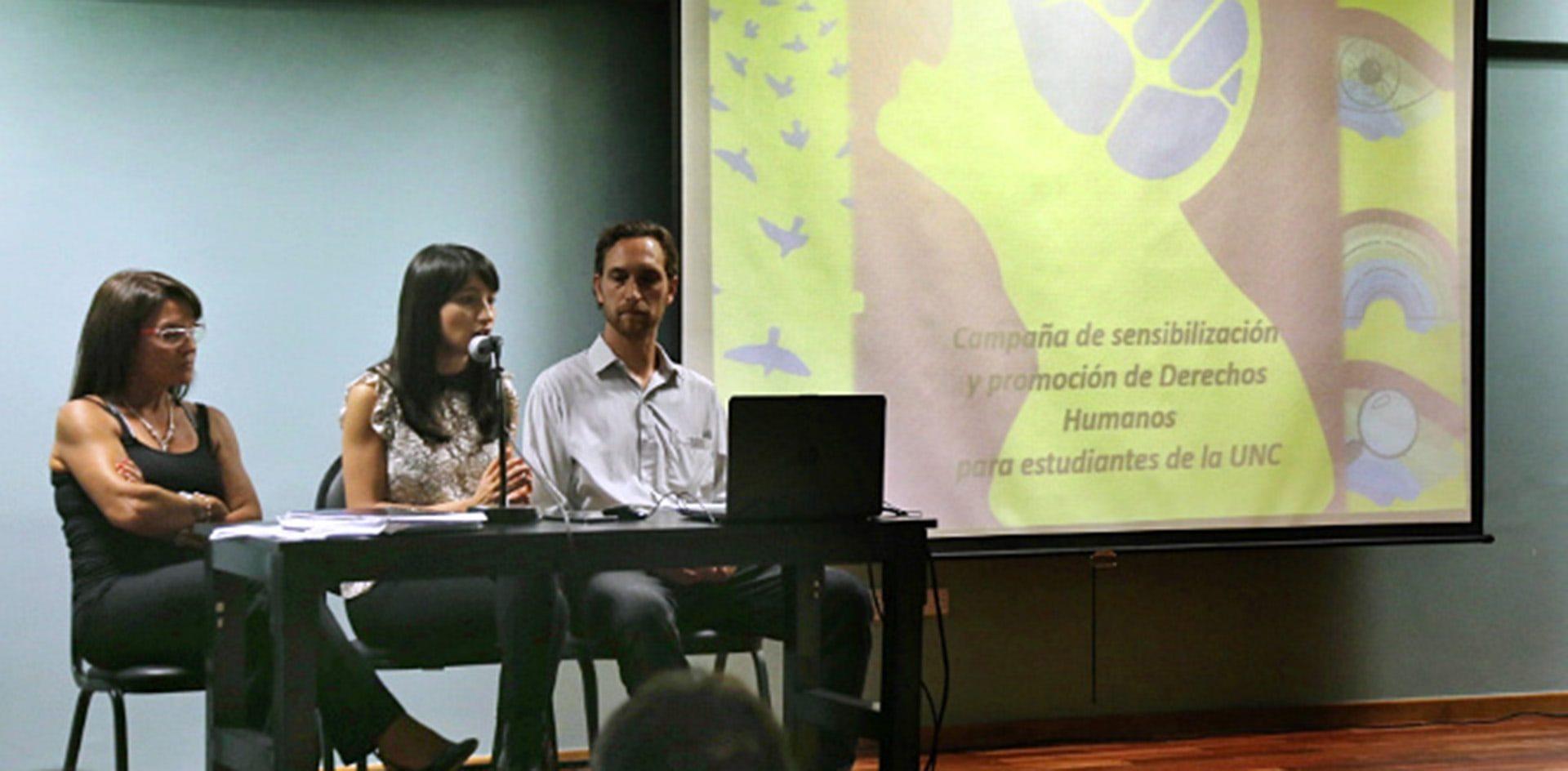 El 70% de los estudiantes de la UNC considera que es mediana o baja la protección de los derechos humanos en el país