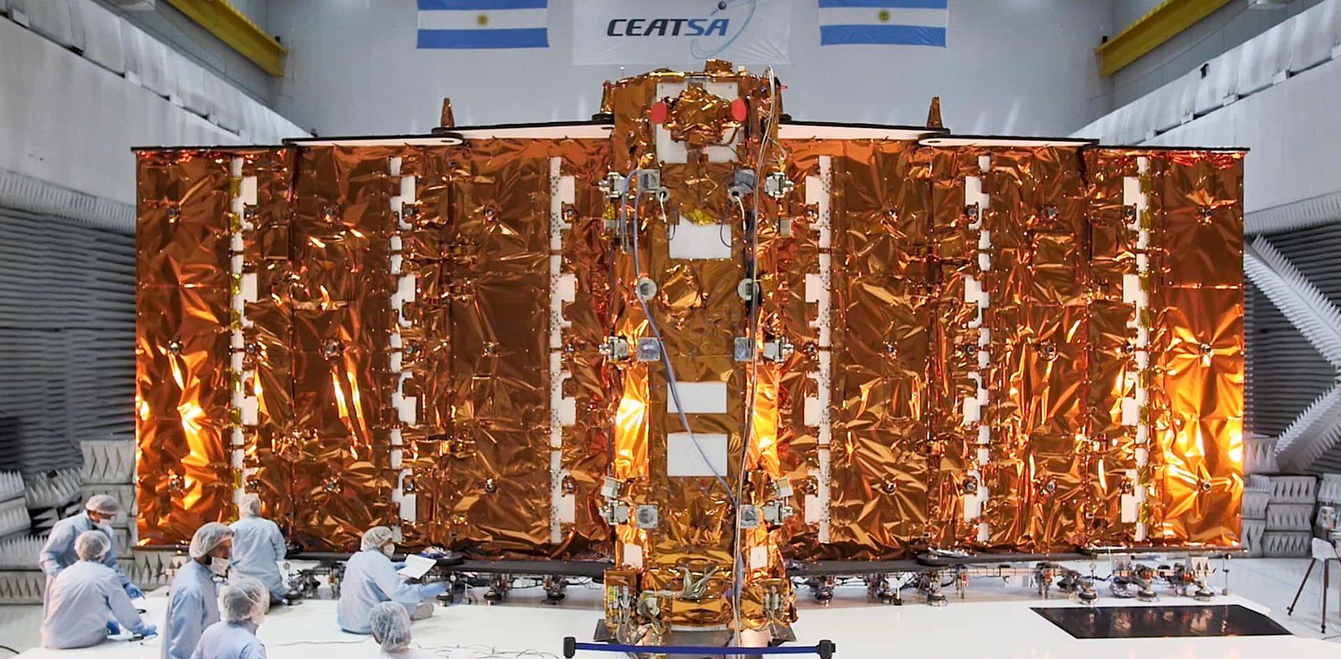 SAOCOM 1A, el satélite 100% argentino que aportará una nueva mirada del planeta