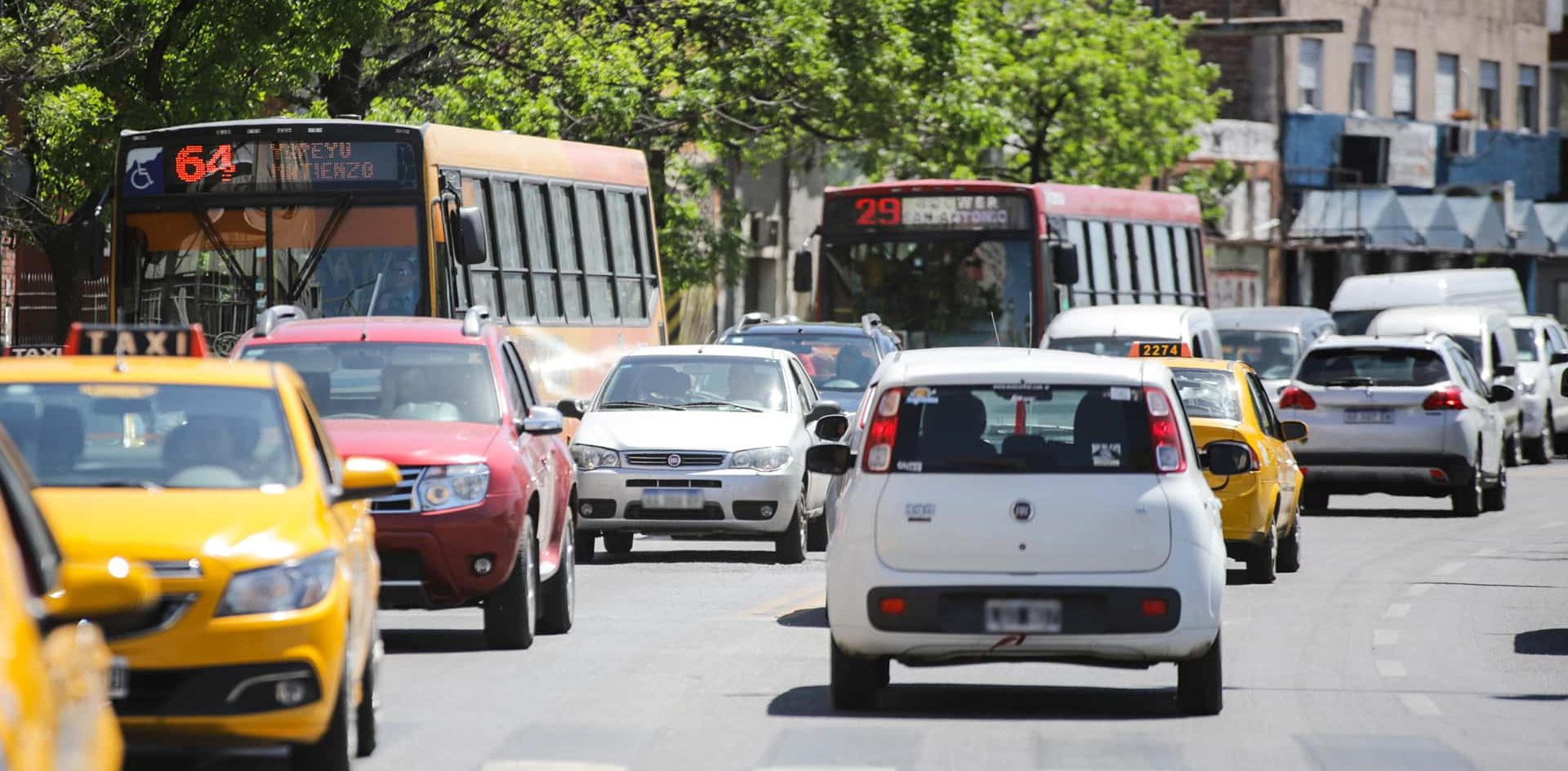 Los gases del tránsito vehicular son el principal contaminante del aire en la ciudad de Córdoba