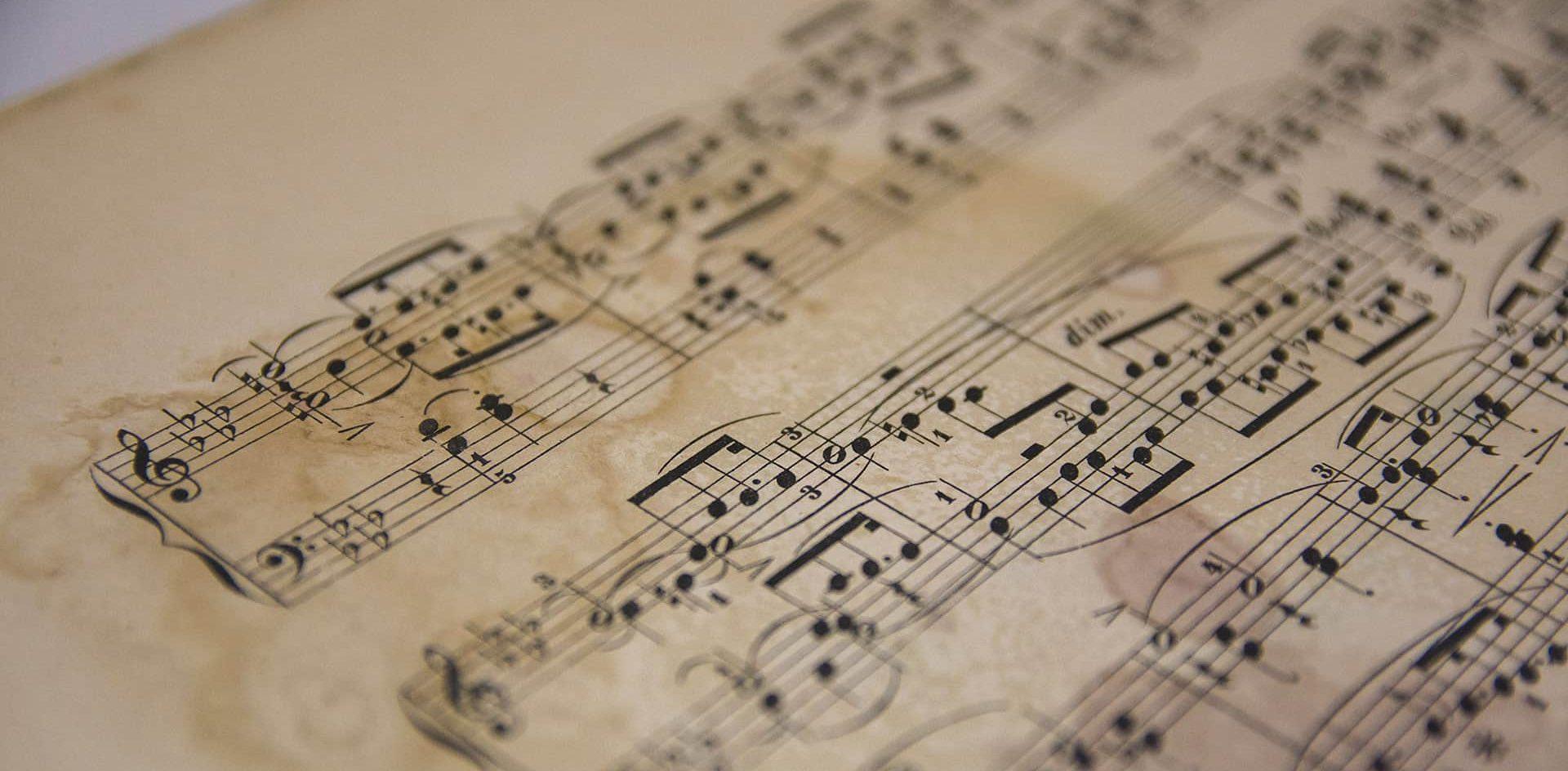 Resguardarán partituras históricas de Córdoba a través del uso de nuevas tecnologías