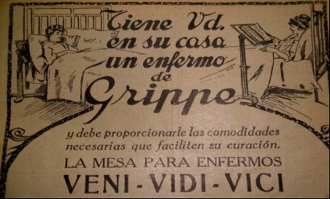 La gripe causó 15 mil muertes en Argentina hace un siglo