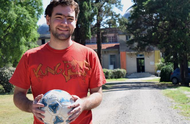 Martín Ríos, uno de los investigadores que creó MeSsI