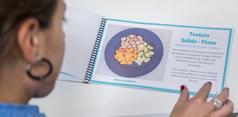 Crean un atlas con imágenes de alimentos para optimizar los tratamientos de personas con disfagia
