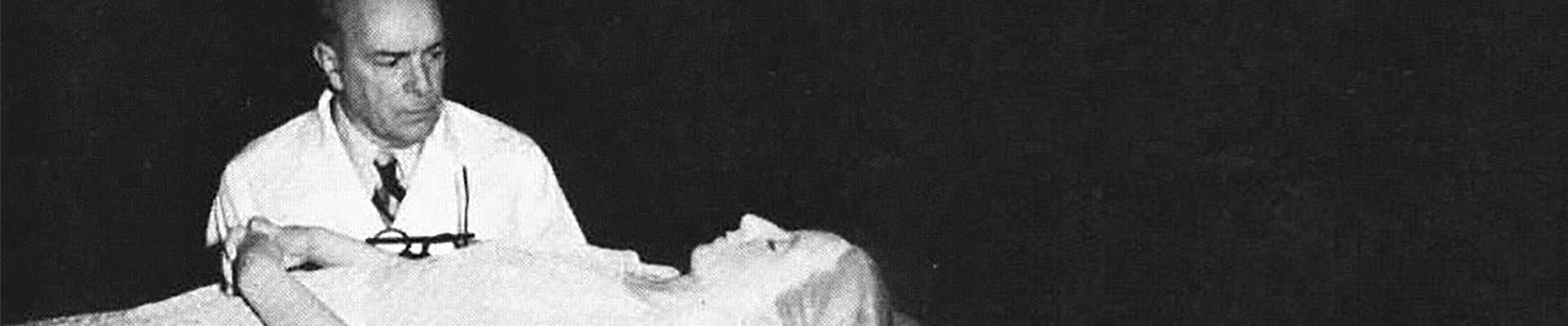 Un cuerpo de parafina