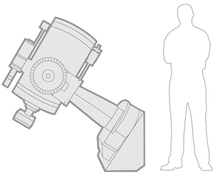 Proyecto TOROS - Telescopio Meade LX200
