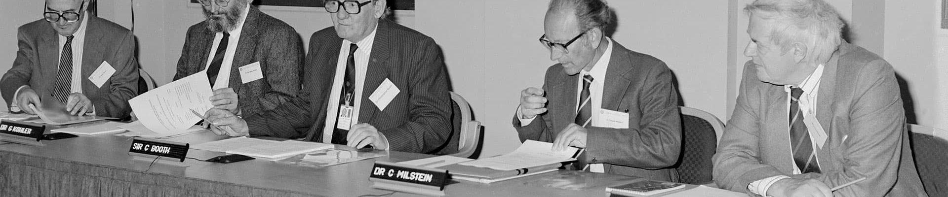 César Milstein y el poder de la discusión