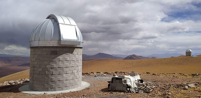 El domo de TOROS en primer plano