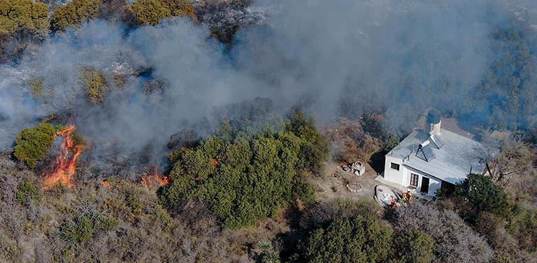 El Instituto Gulich cartografió los incendios que afectaron las sierras de Córdoba entre 1987 y 2018