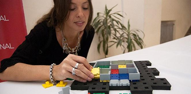 Crean un recurso didáctico para complementar el aprendizaje de niños con discapacidad visual