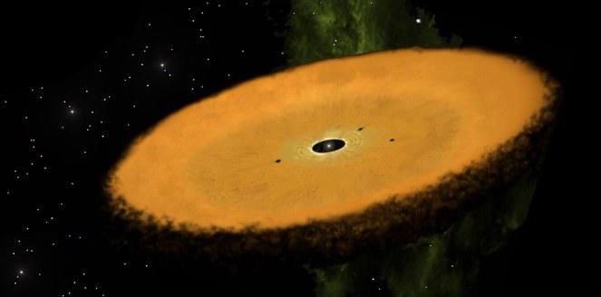 Descubren una nueva estrella con las condiciones óptimas para la formación de planetas