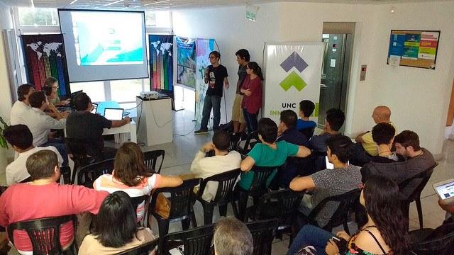 Tres proyectos seleccionados en el hackatón de la Nasa realizado en la UNC