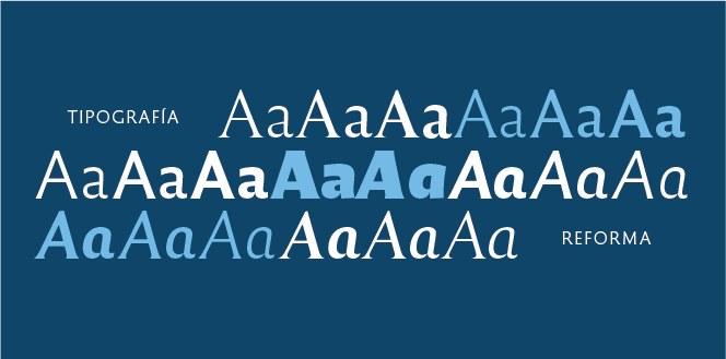 """""""Reforma"""", la tipografía diseñada para la UNC y de acceso libre"""